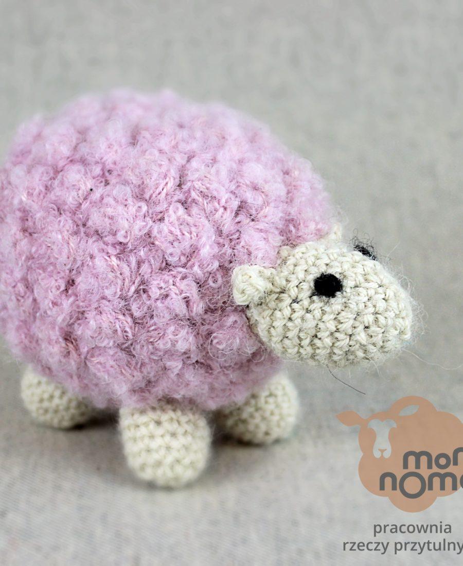 owieczka-przytulanka z naturalnej alpaki momonomo