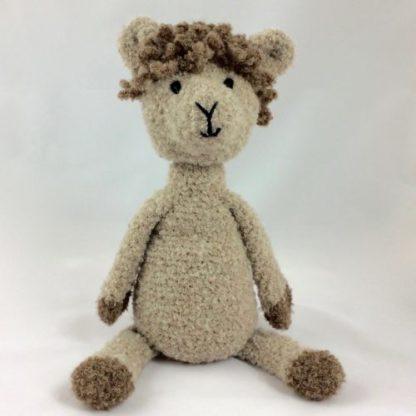 alpaka przytulanka z wełny alpaki