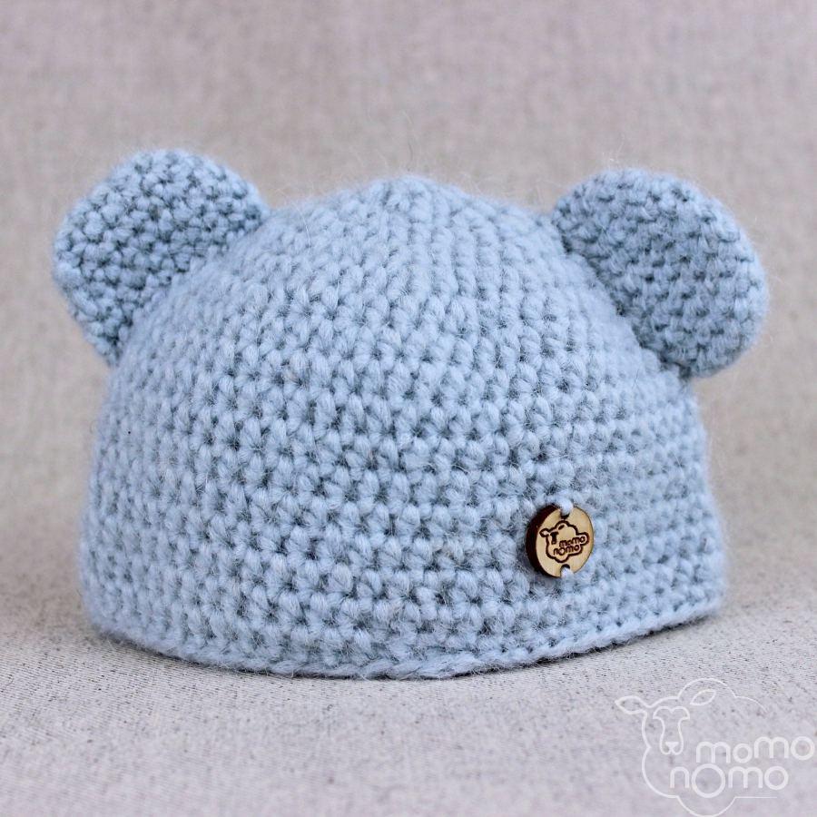 czapka dziecięca z uszkami