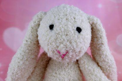 króliczek ecru maskotka alpaka