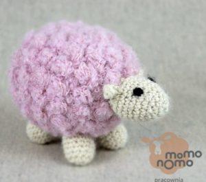 owieczka - przytulanka z naturalnej alpaki