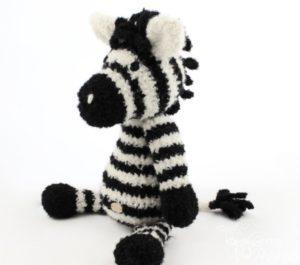 zabawka pluszak zebra z alpaki dla dziecka
