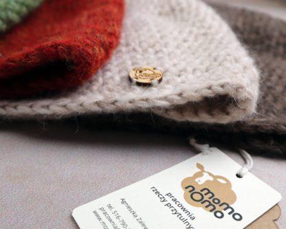 ciepłe czapki zimowe z wełny alpaki kolory jesieni