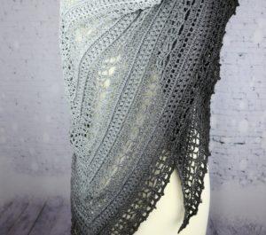 chusta bawełniana ręcznie robiona