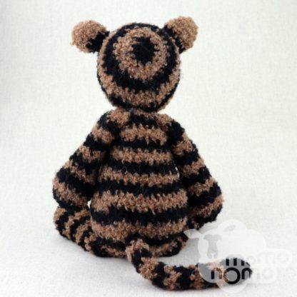 tygrysek przytulanka z alpaki