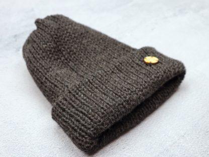 czapka czarna antracyt