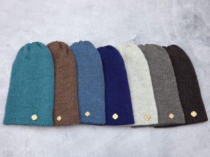 czapki unisex z naturalnej alpaki