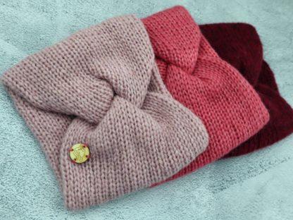 stylowe opaski z alpaki 3 kolory