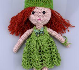 Lalka dla dzieci - rudowłosa maskotka dla dziewczynki