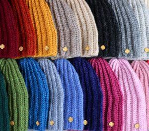 długie czapki unisex z alpaki